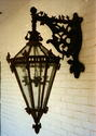 1 of 2 Bronze Outdoor Lanterns